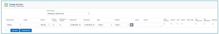 Mission Control Project Management Software AppExchange Salesforce.com